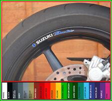 SUZUKI BANDIT Wheel Rim Decals Stickers - gsf 600 750 1000 1200 s 1200s bandits