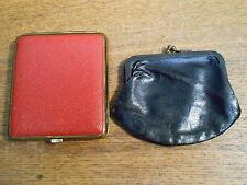 Vintage Coin Pouch & Cigarette Case