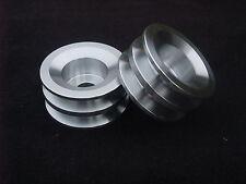 Mazda Rotary twin belt aluminium pulley rx2 rx3 rx4 rx7 ser1 ser2 ser3 ser4 ser5