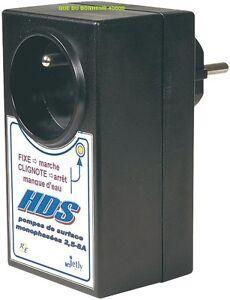 HDS JETLY Relais Hydraulique Sécurité Manque d'eau HDS pompe arrosage 2,5 à 6,5A