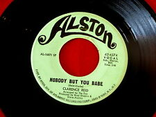 CLARENCE REID~NOBODY BUT YOU BABE~ALSTON~SEND ME BACK MY MONEY~NORTHERN SOUL 45
