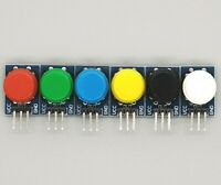 6 x Tactile Button Module for Arduino, Raspberry Pi 6 Color set, Science Project