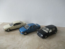3 x Modellauto Schabak Modell BMW 535i VW Golf Ford Orion  Maßstab 1:43 ohne OVP