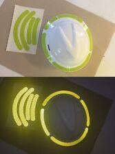 Reflective Hard Hat Brim Decals Tape Oralite V98 Orafol Prismatic 7 Colors Usa