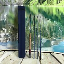 "Santiam Fly Rod 7'6"" 3/4 wt 5 pic  Fly Rod Trout Fly Fishing Backpacking"