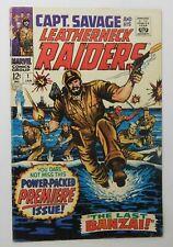 CAPTAIN SAVAGE AND HIS LEATHERNECK RAIDERS #1 - Marvel 1968 VG Vintage Comic