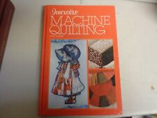 Innovative Matchine Quilting Hb Book