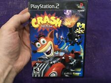 Crash: Tag Team Racing (Sony PlayStation 2, 2005) PS2 Complete With Manual