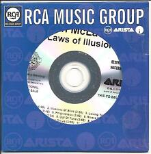 SARAH McLACHLAN Laws Of Illusion UK numbered/watermarked promo test CD sealed