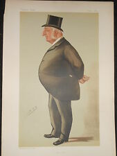 William RICHMOND cotone: 5/9/1885, VANITY FAIR stampa (la città) Inc Bio Foglio