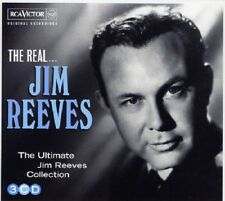 Jim Reeves The Real 3-CD NEW SEALED Country Distant Drums/Welcome To My World+