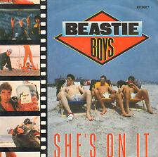 "BEASTIE BOYS – She's On It (1985 HIP HOP VINYL SINGLE 7"" DUTCH PS)"