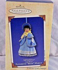 "Hallmark Keepsake Ornament Madame Alexander Little Woman Elizabeth ""Beth March"""