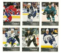 2015-16 Upper Deck Young Guns Rookies Lot of 6 NHL Hockey Cards Donskoi Ehlers