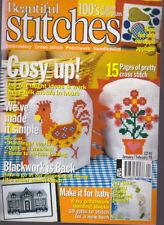 Beautiful Stitches Magazine Jan/Feb 1998 Embroidery Patchwork Needlepoint Cross