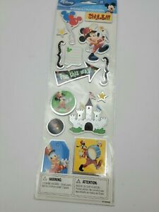 New 2009 Vintage Disney's  Puffy Stickers 16- 3D Unopened