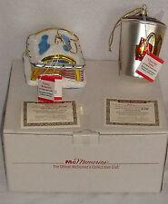 McDonalds Glass Ornaments McMemories 30702 Classic Restaurant Chocolate Shake