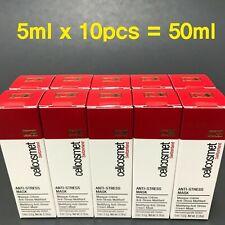 Cellcosmet Anti-Stress Cream Mask 5 ml x 10pcs = 50ml NEW & FRESH **NIB**