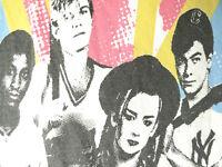 CULTURE CLUB WHITE VINTAGE TEE SHIRT 80s rare boy george music pop BAND L