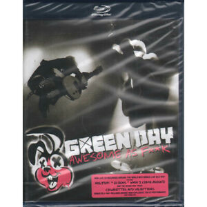 Green Day BRD Blu Ray CD Awesome As F**k / Reprise 9362-49590-6 Sigillato