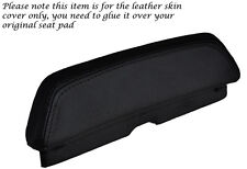BLACK STITCH CUSTOM FITS LAVERDA 650 668 BACKREST PAD LEATHER SEAT COVER