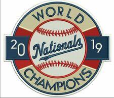 2019 WASHINGTON NATIONALS WORLD SERIES CHAMPIONS PATCH LIMITED EDITION BASEBALL