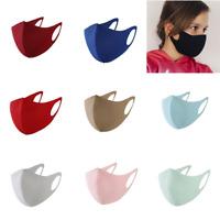 Null Karat Kinder Mund-Nasen-Maske Kindermaske Stoffmaske Spandex Elasthan