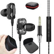 In-Ear Doppeltreiber Kopfhörer X12 Super Bass Ohrhörer Earphone Headset