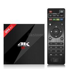 H96 pro+ Plus Android 7.1 Tv Box Amlogic S912 Octa Core 3Gb/32Gb 4K Dual Wifi Bt
