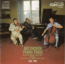 Beethoven Piano Trios Geister & No. 6 Suk Trio CD