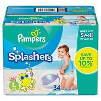 Pampers Splashers Swim Diapers Large (31+ lbs.) - 34 ct.