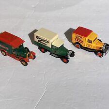 Set of 3 Matchbox Models of Yesteryear three beer trucks Castlemaine Fullers