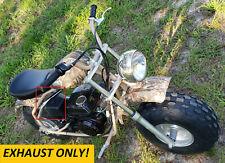 Exhaust 3/4 Ss Female Thread for: Coleman Ct200U-Ex Camo 196cc/6.5Hp Mini bike.