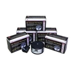 Enviro Bug Control - 360 Degree Ultrasonic Pest Repeller - Mega - 5 Pack