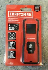 Craftsman CMHT77638 65-ft Indoor/Outdoor Laser Distance Measurer with Backlit Di