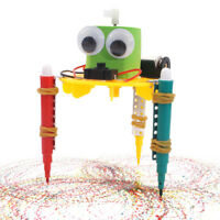 DIY Graffiti Robot, Science Technology, Small Invention Educational Toys Souptoy