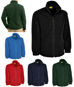 Mens Fleece Jacket By MIG in Size XS to 4XL - CLASSIC WARM PREMIUM JACKETS COAT