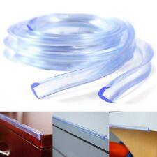 1M Eckenschutz Kantenschutz Transparent für Kinder Baby Sicherheit Silikon Ecke