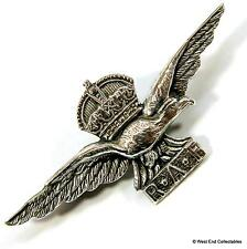 1930s SILVER RAF Sweetheart Brooch Badge - THOMAS LYNTON MOTT - Royal Air Force
