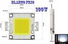 Led chip 100w 6000K ~ 6500K blanco frio Cold white 32V 35V 3A ultra potente 116