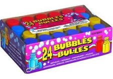 24 New Party Bubbles For Party Favour Kids toy Toys Children Gift Idea Parties