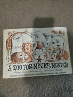 A Zoo For Mister Muster - Arnold Lobel - Hardcover - 1962 Edition ~ VGC