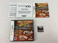 The Quest Trio Jewels, Cards , And Tiles Nintendo DS w/Case & Manual