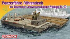 Panzerfähre Fährendeck avec Landwasserschlepper N°II 1/72 Dragon