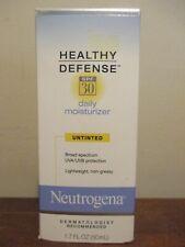 Neutrogena Healthy Defense Daily Moisturizer Untinted Spf 30 1.7 oz