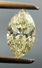 Loose Marquise 7.00mm 1ct VVS1- Canary Yellow Brilliant Lab Diamond Solitaire