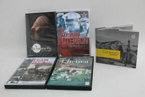 5x Informational DVDs Life Centenary Steam Chelsea Battleship Assorted Bundle