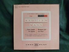 Verdi REQUIEM MASS Box Set LP Album Treasury of Immortal Performances