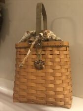 New ListingLongaberger - 2003 Autumn Tote Combo w/ Liner, Protector, And Tie-on