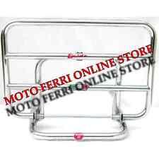 PORTAPACCHI POSTERIORE CROMATO PIAGGIO VESPA GT 125 200 SU MANIGLIONE ORIGINALE